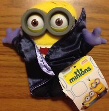 "MINIONS Movie Exclusive Action Figure 2015 5"" Plush Gone Batty - Dracula Minion"