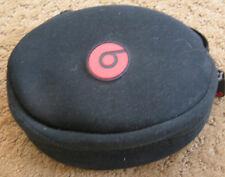 Dr Dre headphone black soft zipper carry case