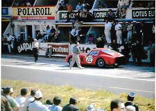 1962 LE MANS 24 HOURS HEURES FERRARI 250 GTO Jean Blaton Leon Dernier No22 BELGE