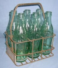 COCA COLA Advertising Metal 6 PACK CARRIER Property of Okla Bottle Co.