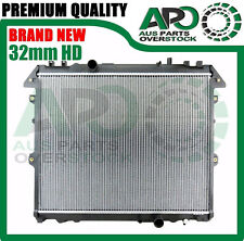 32mm HD Radiator For TOYOTA HILUX KUN16R KUN26R 3.0L Turbo Diesel Manual 2005-On