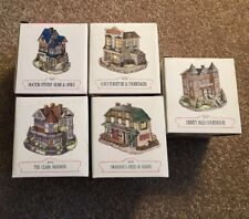 New Unused Vintage Liberty Falls Village The Americana Collection Lot Of 5