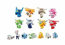 Super Wings - Transform-a-Bots World Airport Crew   Collector Pack   15 Toy F...