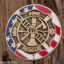 Fire and Rescue Lapel Pin