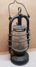 Rare Ancienne lampe a pétrole tempête électrifier Feuerhand Nr 201