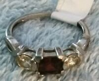 Women's Silver Ring 925 sterling silver size 8