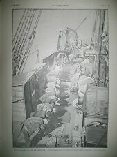 TURQUIE PELERINAGE DE LA MECQUE PRIERE V. SARDOU COMEDIE FRANCAISE GRAVURES 1901