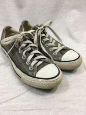 CONVERSE ALL STAR CHUCK TAYLOR Mens 5 WOMENS 7 Sneakers Shoes GRAY LOW ANKLE EUC