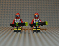 Lego UFO Space Figuren Konvolut 2x sp044 + Zubehör aus Set 6979