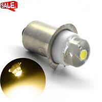 2X MAGLITE LED UPGRADE P13.5S COB 0.5W BULB GLOBE for TORCH FLASHLIGHT AC 4.5V