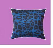 "IKEA Giltig Pillow Cover Blue Purple Black Leopard Animal Print 26""Cushion Cov"