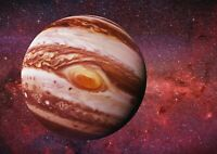 A1| Awesome Planet Jupiter Poster Print Size 60 x 90cm Galaxy Poster Gift #15898