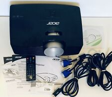 Acer X113PH SVGA 3D DLP Home Theater Projector (2016 Model) Untested