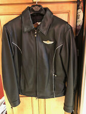 Harley Davidson 100th Anniversary 2003 Leather Motorcycle Jacket Woman's Large