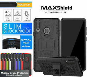 For Sony Xperia 5 / 1 II / 10 II / XZ3 Heavy Duty Shockproof Stand Case Cover