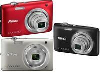 Nikon Coolpix S2800 20.1 MP Digital Camera W/ 5x Optical Zoom S-2800 20MP NIB