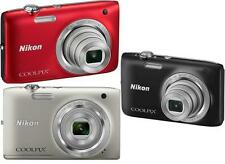 Nikon Coolpix S2800 20.1 MP Digital Camera W/ 5x Optical Zoom S-2800 20MP NIB