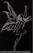 Fairy Rhinestone Iron on T Shirt Design                WLXV