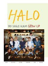 Halo - Grow up (3rd Single Album) CD 48p Photobook Photocard Gift Photo