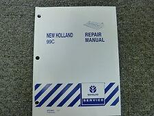 New Holland Model 99C Combine Corn Head Shop Service Repair Manual Book
