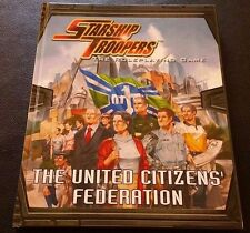 STARSHIP TROOPERS The Roleplaying Game THE UNITED CITIZENS FEDERATION D20 HC NEW