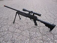 One Air Soft Well SR-2 Airsoft Bolt Action Sniper Rifle Scope Bipod 470 FPS