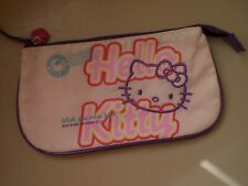 HELLO KITTY MAKE UP COSMETIC BAG  WISH YOU WERE HERE SUMMER 2011