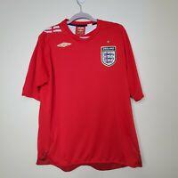 ENGLAND NATIONAL TEAM 2006-2008 FOOTBALL SOCCER SHIRT JERSEY AWAY UMBRO ORIGINAL