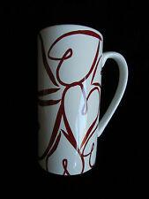 Valentine Red Heart Coffee Tea Mug Brand New