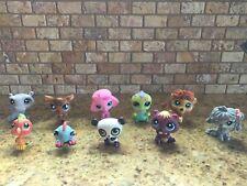 Littlest Pet Shop Lps Variety Lot Of 10 Pets Poodle Komondor Dogs + Mystery Pet