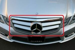 New Mercedes W212 E Class Grille Chrome Silver AMG Look Front Grill C207 Style