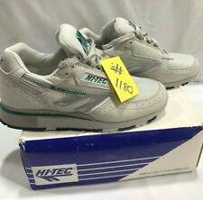 NEW HI TEC SILVER SHADOW Classic Retro GYM Running Trainers 3.5 #1180