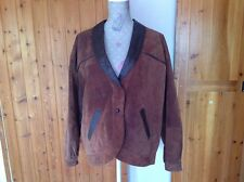 Suede 1980s Vintage Coats & Jackets for Women