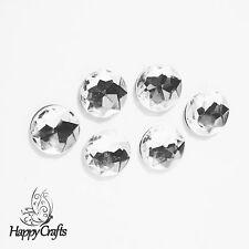Round Sparkly Jewel Magnet Set of 6