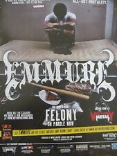 Emmure, Felony, Full Page Promotional Ad