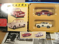 Broadspeed Racing Ford Anglia's of the 1960's by Vanguards: Boxed Set in 1:43