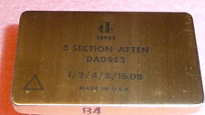 NEW 1PCS DAICO DA0953 GaAS 5 Section Attenuator DC 500 MHz 1.7dB 24-PIN DIP GOLD