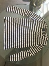 Analog brand Striped Black And White Henley Dylan Rieder size M