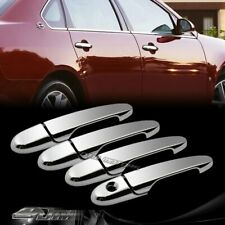 ABS Mirror Chrome Adhesive VIP Door Handle Cover Cap For 2005-2010 Chevy Cobalt