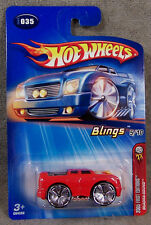 Hot Wheels ~ 2005 First Editions ~ Blimgs ~ Quadra-Sound ~ Red