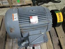 Westinghouse AC Motor 1635889G21 30HP 1775RPM 230/460V 69.4/34.7A Used