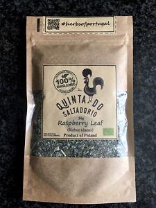 100% Raspberry Leaf 30g WILD HARVESTED & Organic Rubus idaeus herbal herb Tea
