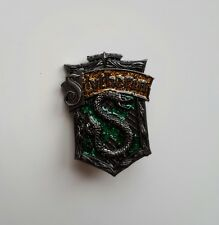 Pin badge Medal Harry Slytherin Hogwarts glitter brooch house Draco Malfoy Ron