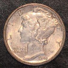 New listing 1943-D Mercury Dime - High Quality Scans #D902