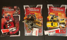 Transformers Classics Universe Lot RID Bumblebee Sideswipe Grimlock Complete
