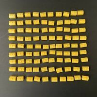 Lot of 90 Yellow Monopoly Hotel Pieces Parts Replacement Arts & Crafts