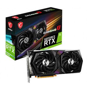 GeForce RTX 3060 GAMING X - Dual Fan - 12Go (MSI)