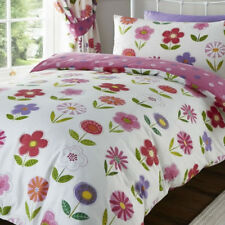 Little Flower Toddler Bedding with Wall Stickers