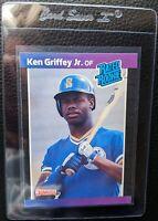 1989 DONRUSS #33 KEN GRIFFEY JR ROOKIE CARD RC SEATTLE MARINERS HOF MINT