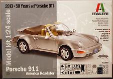 1988 Porsche 911 Carrera 2 Roadster ( 964 ),1:24, Italeri 3680